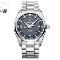 Eterna KonTiki Date, SW 200-1, Grey, Steel Bracelet