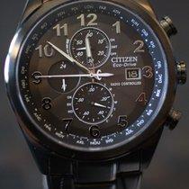 Citizen Eco Drive Perpetual Calendar Chronograph World-Time...