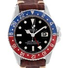 Rolex Gmt Master Vintage Red And Blue Pepsi Bezel Mens Watch 1675