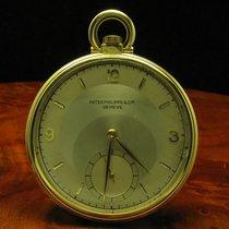 Patek Philippe & Cie 18kt / 750 Gold Open Face Taschenuhr