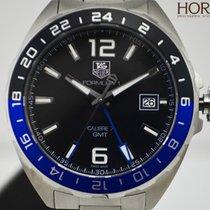 TAG Heuer Men's Formula 1 GMT Automatic Black Dial Blue Bezel