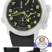 Blancpain Leman Reveil Alarm GMT ECJ East Coast Jewelry 2041...