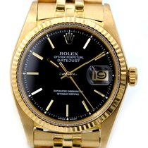Rolex Oyster Perpetual Datejust in Gold 18kt Automatik 1601