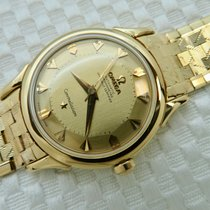 Omega 1956 18K Solid Gold Omega Constellation Pie Pan Deluxe 2852