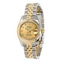 Rolex Datejust 179173 Women's Watch in 18K Gold &...