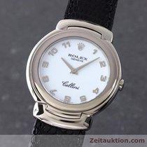 Rolex Cellini Cestello 18k (0,750) Weissgold Herrenuhr Ref. 6622