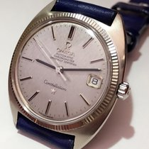Omega Rare 18K White Gold Constellation Automatic date Mens Watch