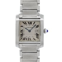 Cartier 2485 Tank Francaise Stainless Steel Midsize Watch