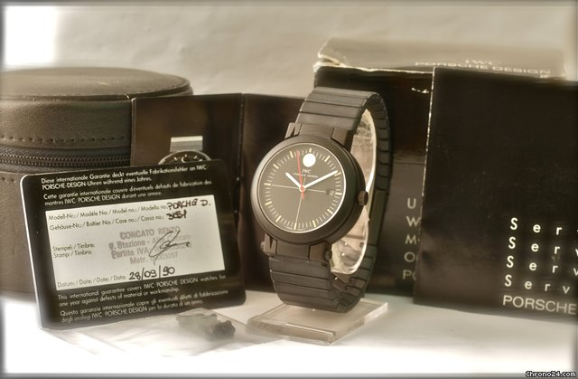 IWC Porsche Design Compass Watch/Mirror