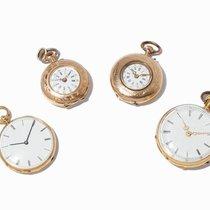 Convolute 4 Small Pocket Watches