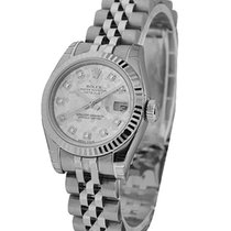 Rolex Used Ladys Datejust with Jubilee Bracelet
