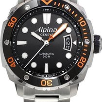 Alpina Geneve Extreme Diver AL-525LBO4V26B Herren Automatikuhr...