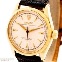 Rolex Vintage Oyster Perpetual 14k Yellow Gold Ref-6285 Bj-1962