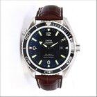 Omega Seamaster Planet Ocean Steel Auto Watch Bracelet + Strap...