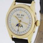 Juvenia Moon Phase Triple Calendar Swiss Made Automatic Watch...