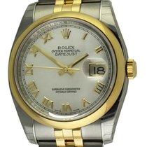 Rolex - Datejust : 116203 white dial on Jubilee bracelet