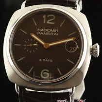 Panerai New Radiomir 8 Days Pam00346 Pam 346 Titanium Brown...