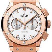 Hublot Classic Fusion Chronograph Opalin King Gold 42mm