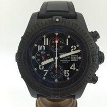Breitling Super Avenger · Blacksteel M13370
