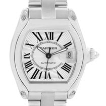 Cartier Roadster Mens Automatic Watch W62025v3 Box Papers