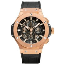 Hublot Big Bang Aero Bang 44mm Automatic 18K Rose Gold Mens...