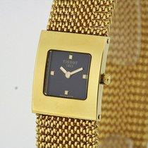 Tissot Bellflower solid 18K Yellow Gold Watch NOS T73.3.321.51...