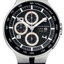 Porsche Design Flat Six Automatic Chrono Steel & PVD Mens...