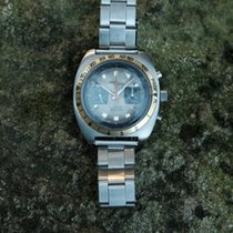 Nicolet Watch Profondimetre Vintage Diver Chronograph Oyster Band