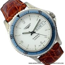 Longines Admiral L3.600.4.18.2 Day-Date white dial Like New...