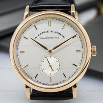 A. Lange & Söhne 216.032 Saxonia Manual Wind 18K Rose Gold...