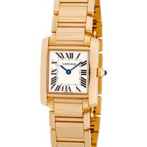 Cartier Tank Francaise 18K Rose Gold Ladies Watch – W500264H