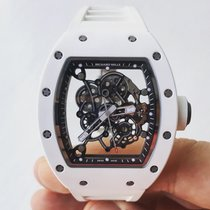 Richard Mille RM055 Bubba Watson | White Ceramic ATZ case | RM55