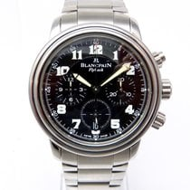 Blancpain LEMAN 2100 FLYBACK CHRONOGRAPH 2185F1130 METALLBAND...