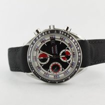 Omega Speedmaster Chronograph 3210.52.00 Complete Black And Red
