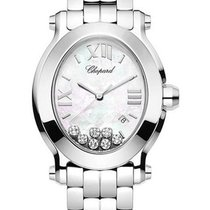 Chopard Happy Sport Oval with 7 Floating Diamonds