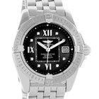 Breitling Windrider Cockpit Ladies Black Diamond Dial Watch...