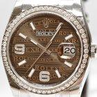 Rolex Datejust Stahl Brillanten 116244 Papiere Neu 19%Mwst