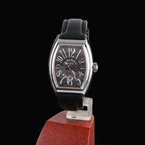 Franck Muller conquistador steel automatic lady
