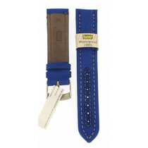 Bros Blue Textile Water Proof Strap 20mm