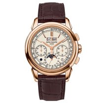 Patek Philippe Grand Complications Chronograph Rose Gold on Strap