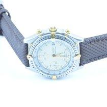 Breitling Chronomat Herren Uhr Stahl/gold 39mm Rar Weiss Rar 2