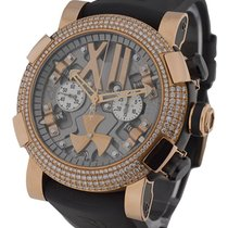 Romain Jerome Titanic DNA Steampunk Rose Gold Diamond Bezel