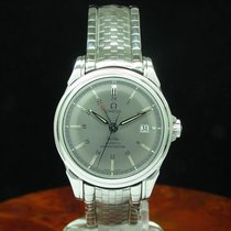 Omega De Ville Co-axial Gmt Chronometer Automatic Stahl...