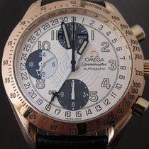 Omega Speedmaster Triple Date Calender Chronograph 18 K gold