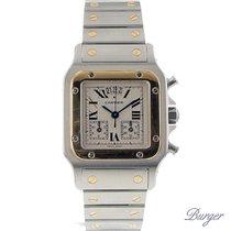 Cartier Santos Chronoflex Gold/Steel