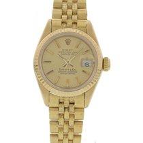 Rolex Ladies Rolex DateJust 18K 69178 Tiffany & Co.