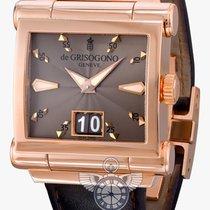 De Grisogono Instrumento Grande rose gold big date