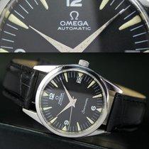 Omega Seamaster Automatic Date Steel Mens Wrist Watch