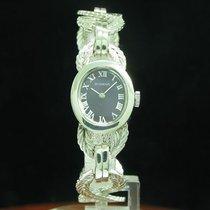 Dugena 800 Silber Handaufzug Damenuhr / Kaliber Bifora 52-2