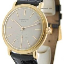 Patek Philippe 3429 Gubelin 18K Yellow Gold Mens Watch 3429J...